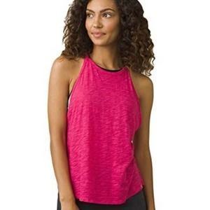 prAna Womens You Tank in Cosmo Pink Size Large NWT